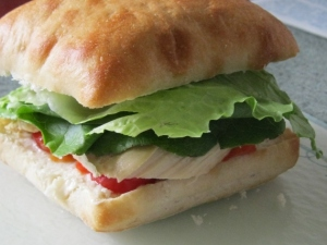 CHICKEN BREAST SANDWICH (3)